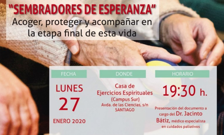 "Presentación del documento ""Sembradores de Esperanza» a cargo del Dr. Jacinto Bátiz"
