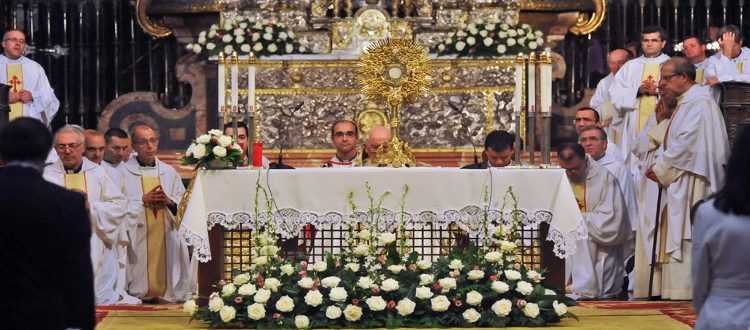 Foto de archivo. Corpus Christi 2014